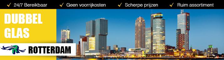 Dubbel glas isoleert uw huis in Rotterdam