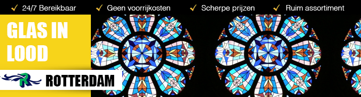 Glas in lood Rotterdam
